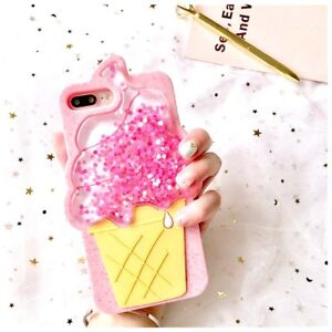 3D-ice-cream-Liquid-Glitter-Lanyard-Silicone-Case-Cover-For-iPhone-6-6s-7-7Plus