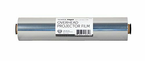 4 mil Thick School Smart Overhead Projector Film Roll 10-1//4 Inches x 50 Feet