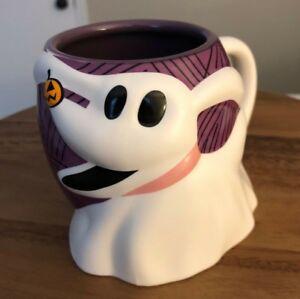 Disney-Zero-Figural-Mug-The-Nightmare-Before-Christmas-Ghost-Dog-Jack-NEW-RARE