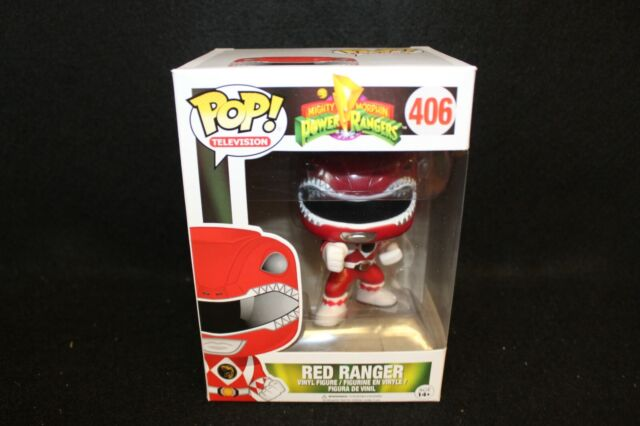 POP TV Mighty Morphin/' Power Rangers Red Ranger #406 Figure Funko