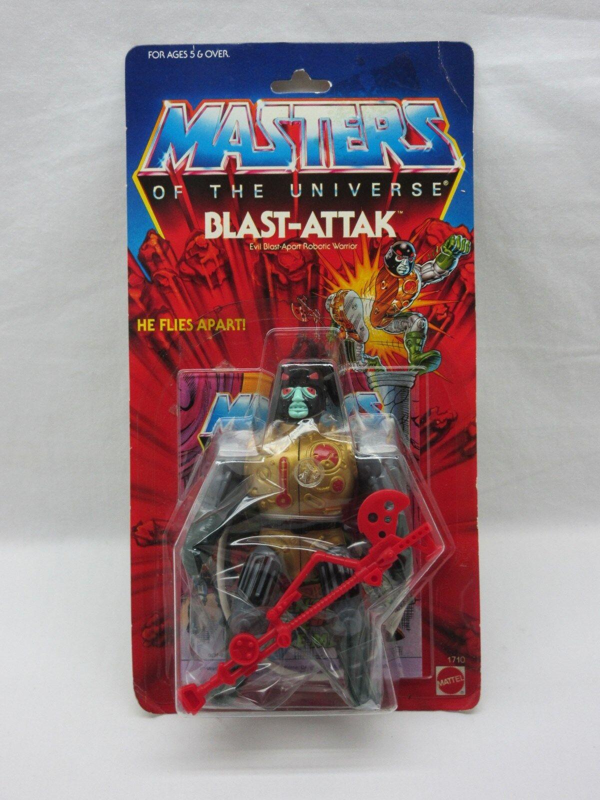 MOTU,Vintage,BLAST-ATTAK,Masters of the Universe,MOC,carded,sealed,He Man