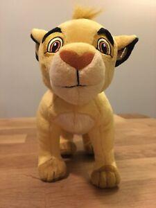 Disney-Lion-King-Simba-Cub-Baby-Plush-Toy-Stuffed-Animal-14-034-Long-Brown-Feet