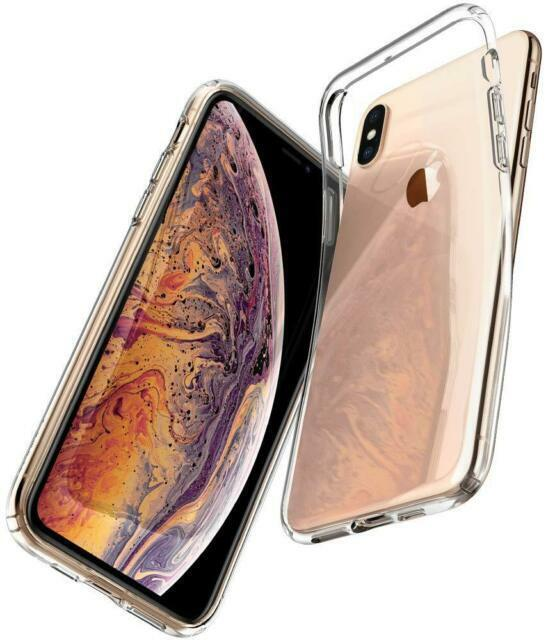 Spigen Liquid Crystal Fitted Case for Apple iPhone XS Max - Clear