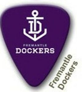 Fremantle-Dockers-Guitar-Picks-5-Pack-Official-AFL-Product