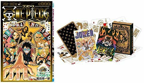ONE PIECE FILM GOLD Special Comic manga vol.777 with Playing Cards Trump Japna