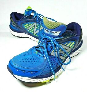 ff94bce02f5ff New Balance 860 V7 Running Shoes Men's SIZE 11 Blue White Volt ...