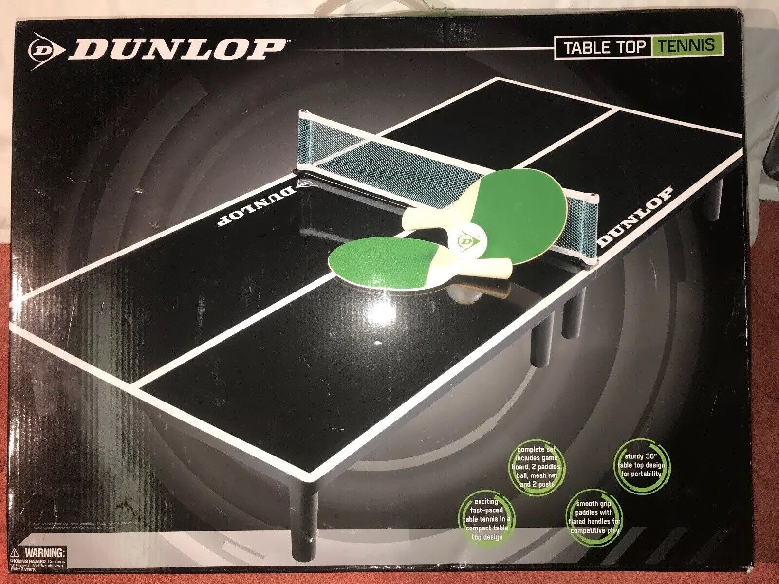 Tabletop Tennis Games Ping Pong Paddles Kids Indoor Games