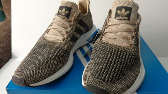 Details about adidas Originals Men's Swift Running Shoe Raw GreenReal GoldBlack 4 M US