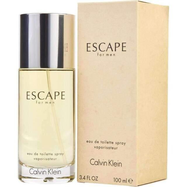 Calvin Klein Escape Cologne for Men 100ml EDT Spray