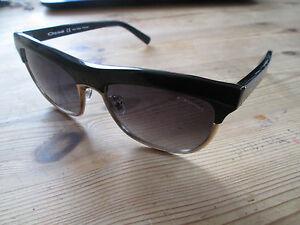 0dc6382eef Image is loading Osse-black-frame-clubmaster-style-polarized-sunglasses-OS-