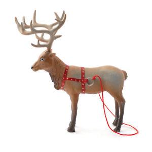 100% Vrai Dolls House 4429 Rudolph - Le Renne 1:12 Pour La Maison De Poupées Neuf !# Doux Et Doux