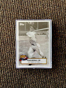 2020 Topps Stan Musial 100th Birthday St Louis Cardinals MLB DEBUT SM-1  PR:1142