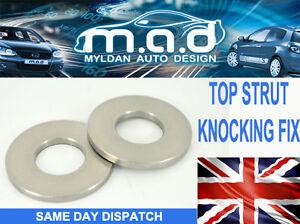 RENAULT-Clio-MK2-Top-Strut-Knocking-Fix-x2-Washers-1-2-1-4-1-6-1-5dci-2-0-Sport