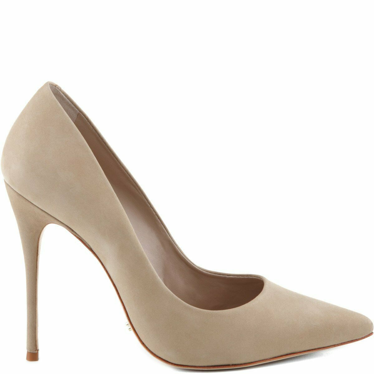 bellissima SCHUTZ donna Caiolea, Brush Sand Nude Nude Nude Suede Pointed Toe Dress Pumps  consegna lampo