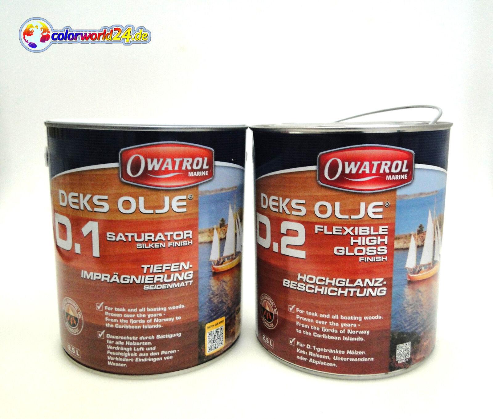 Owatrol Deks Deks Owatrol Olje D1 oder D2 Holzöl, Marine, Stiefel, Schiff, 338f52