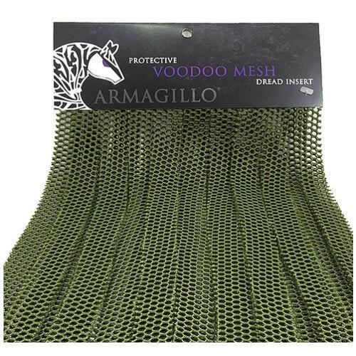 Armagillo Voodoo Mesh Dread Insert Tropic Green Paintball