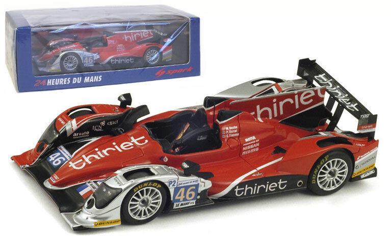 Spark S3725 ORECA 03-Nissan   46' Thiriet par TDS Racing  Le Mans 2012, échelle 1 43,