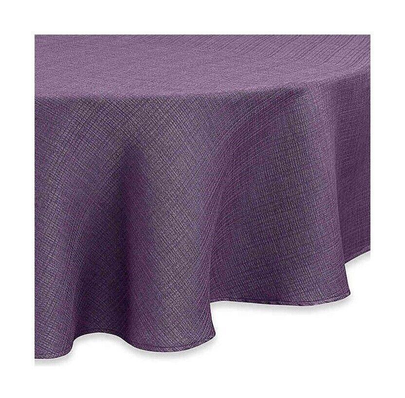 Noritake Colorwave 60x84 60x102 Fabric Tablecloth Plum Purple Beach Summer House