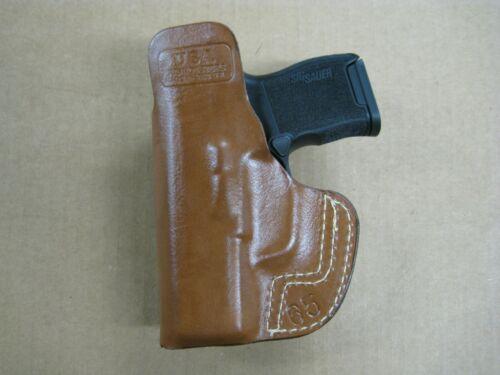 Choose Gun 5 USA Premium In The Waistband IWB Leather Belt Loop Holster CCW