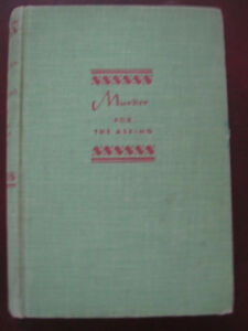 1st-edition-Murder-For-The-Asking-George-Harmon-Coxe-SIGNED-INSCRIBED-1939