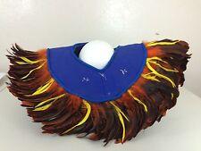 Feather Coque Yoke Costume Native American Collar Shoulder Piece Ethnic Tribal