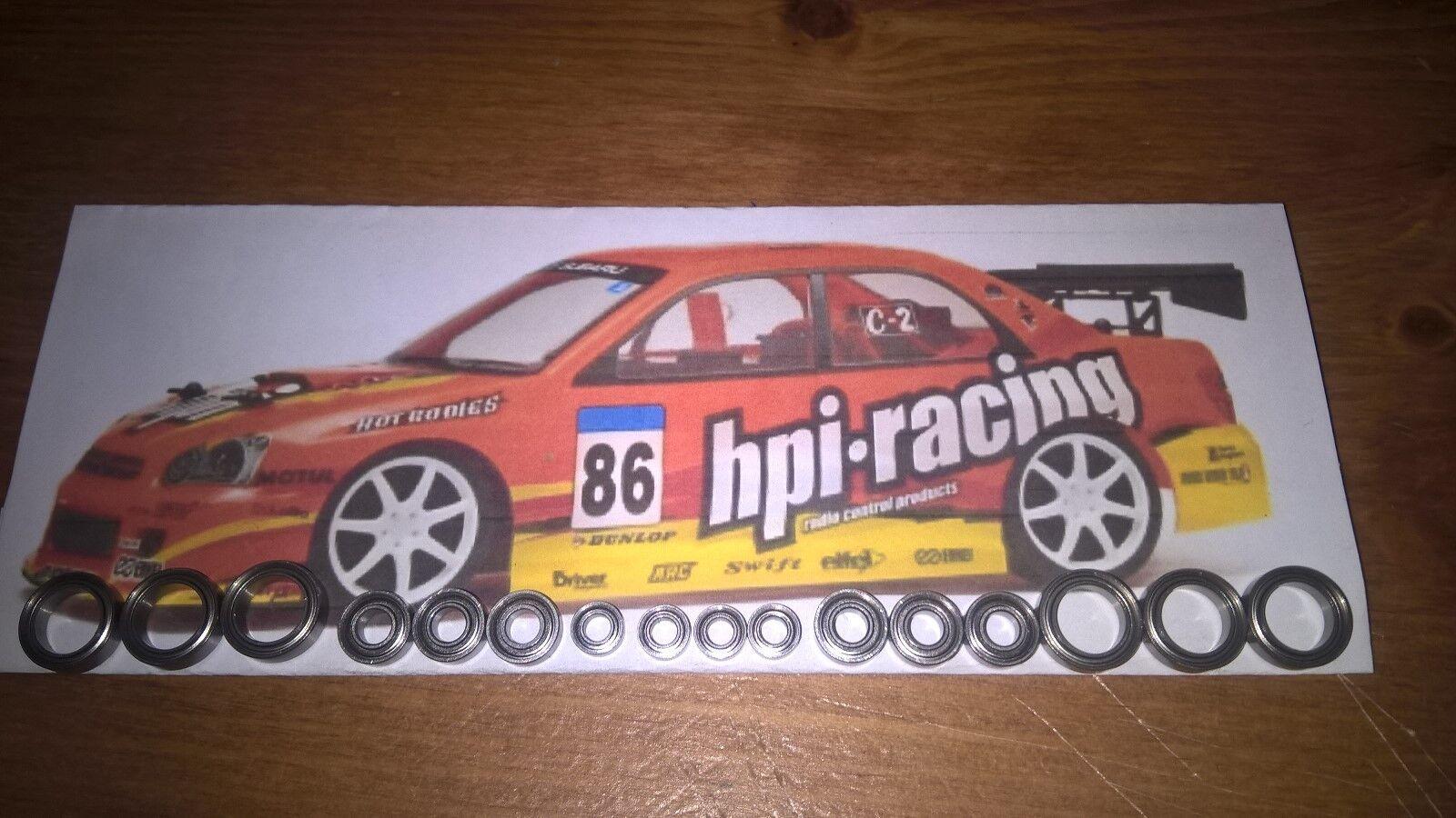 prezzi eccellenti HPI HPI HPI Nitro RS4 Sport Completo in Acciaio Inox Ibrido IN CERAMICA KIT CUSCINETTO.  marca