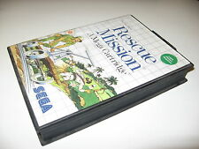 Rescue Mission PAL version Sega Master System Brand New Unsealed