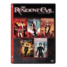 Resident Evil: Complete Milla Jovovich Movies Series 1 2 3 4 5 Box/DVD Set NEW!