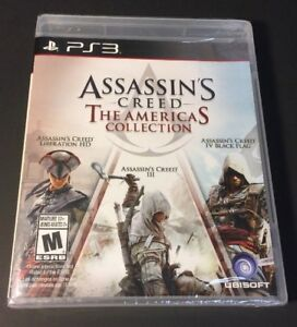 Assassin S Creed The Americas Collection 3 Games In 1 Pack