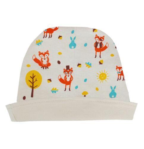 Mr Fox Organic Reversible baby hat