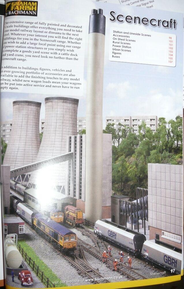 HS Graham Farish SCENECRAFT 42-196 Rail Interchange Shed Lokschuppen