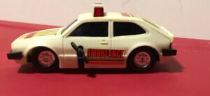 Old-Vintage-Yatming-Volkswagen-VW-Scirocco-Car-Wind-Up-Toy-Rescue-Ambulance-RARE