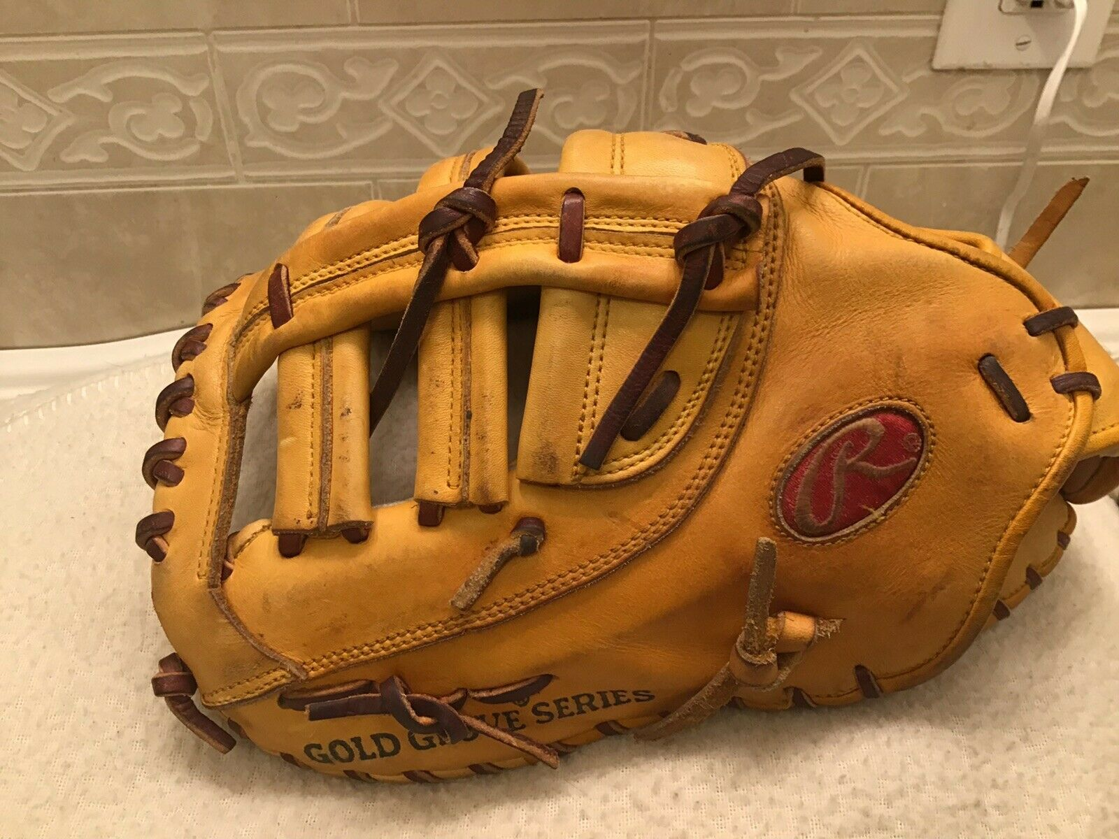 Rawlings projomj 13.25  Hoh béisbol Softbol First Base Mitt Left Hand Throw