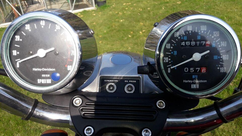 Harley-Davidson, Xlh Sportster, 1000 ccm