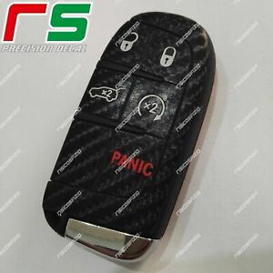 jeep renegade ADESIVI sticker decal cover key chiave carbon look