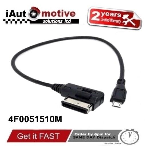Audi + VW Micro USB Ami Mmi Câble Interface Adaptateur Samsung LG HTC