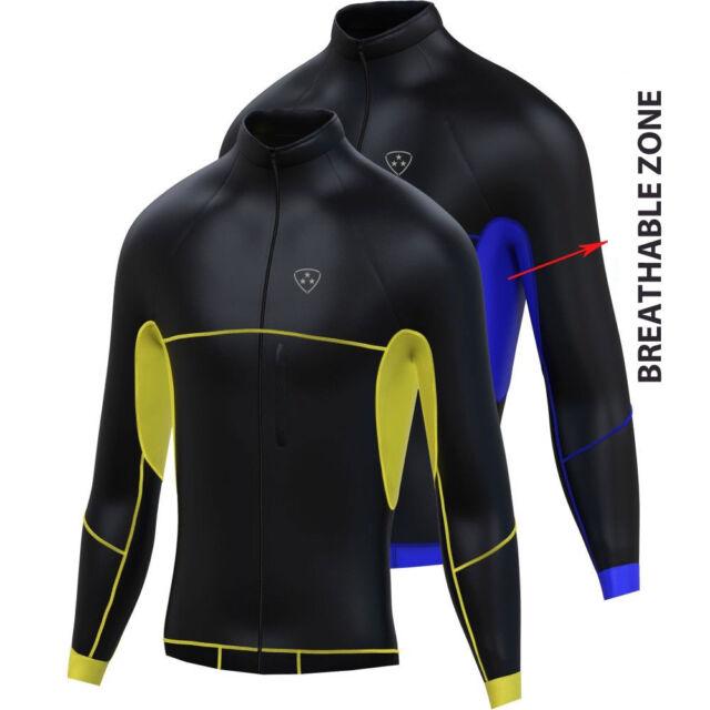 Softshell Wind Stoper Road Bike Cycling Jacket Top Thermal Full Saleeve Jacket