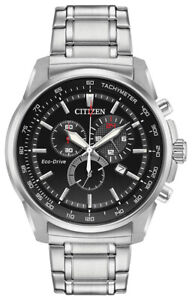 Citizen-Eco-Drive-Men-039-s-Brycen-Chronograph-Multi-Dial-44mm-Watch-AT2370-55F