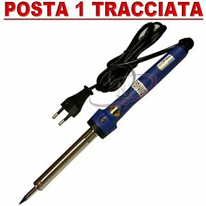 Saldatore-Elettrico-Saldatrice-Saldatura-a-Stagno-da-60W-Professionale-a-Stilo