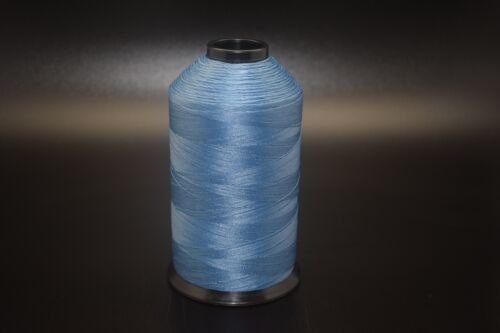 8oz Spool Ocean Blue T70 3000 Yards Bonded Nylon Sewing Thread #69 Fabric N91