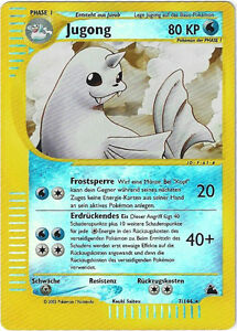 CCG-72-Pokemon-Skyridge-Reverse-Holo-Jugong-Dewgong-7-144-BGS-PSA-9-0