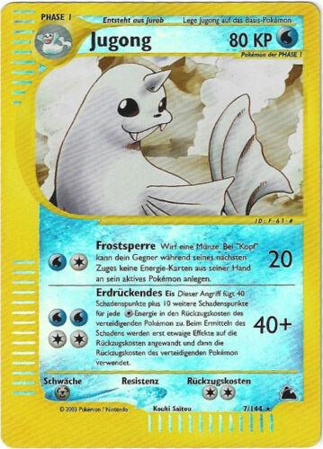 PSA 9.0 ? CCG 72 Pokemon Skyridge Reverse Holo Jugong Dewgong 7//144 BGS