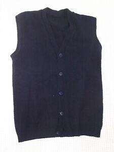 maglione-gilet-uomo-blu-lana-taglia-m-medium