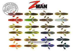 "Z-Man BugZ 2.75/"" Creature Bait Ned Rig Perch Lure Fishing"