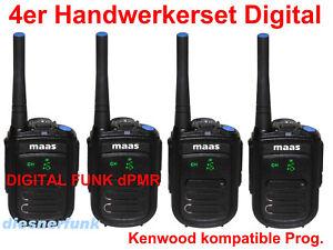 Chargement De Limage 4x MAAS PT 130 D DIGITAL DPMR 446