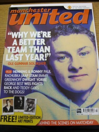Mar2000 Manchester United Official Magazine Issue 087 Why We're A Better T