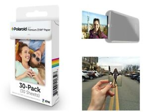 30 Sheets Premium Zink Photo Paper Polaroid 2x3 Inch Film Snap Touch