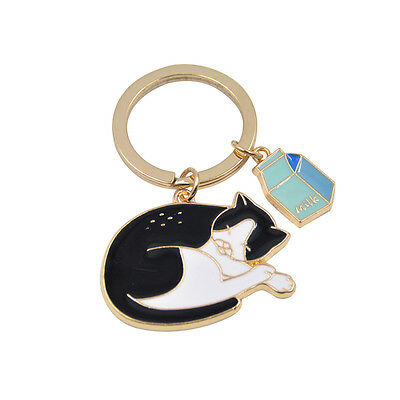 Kawaii Animal Pendant Keychain Key Ring Car Key Bag Accessories Purse Bag Charm