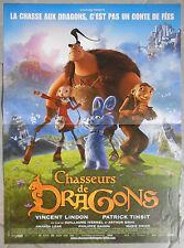 Affiche CHASSEURS DE DRAGONS Guillaume Ivernel ARTHUR QWAK 40x60cm