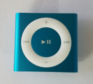 Blue 4th Gen Apple Ipod Shuffle 2gb Model A1373 Ipod Only No Power Sold As Is 888462474627 Ebay